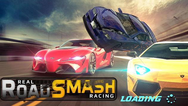 Real Road Smash Racing poster