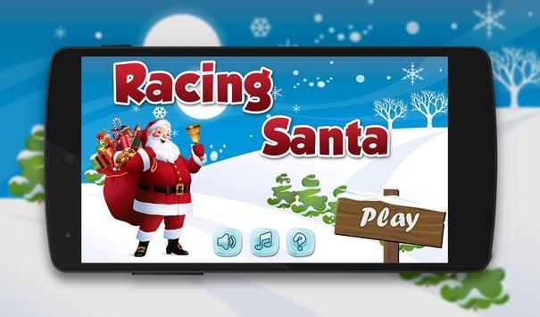 Santa Running 2016 poster