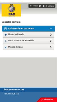 RAC Vasco Navarro apk screenshot