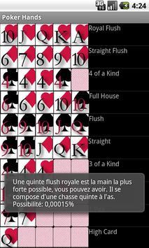 Poker Hands apk screenshot