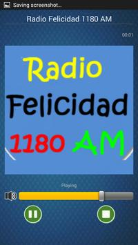 Radio F 1180 AM México en Vivo poster