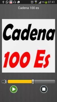 100 es FM Radio España Directo poster