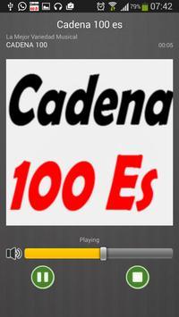 100 es FM Radio España Directo screenshot 2
