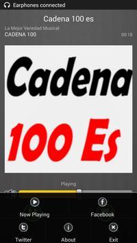 100 es FM Radio España Directo screenshot 3