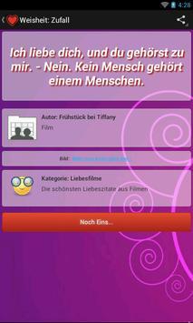 Zitate-Love-Lite apk screenshot