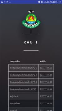 RAB Contacts apk screenshot