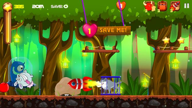 Rabbit Run For Fun screenshot 2