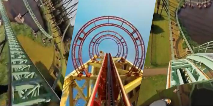 VR Thrills: Roller Coaster 360 (Google Cardboard) apk screenshot