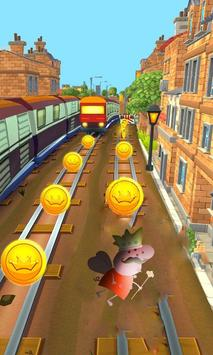 Skater Peppay- Of Pigs Jungle apk screenshot
