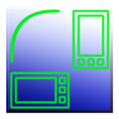 Switcher for screen rotation icon