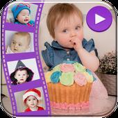 Birthday Photo Video Maker icon