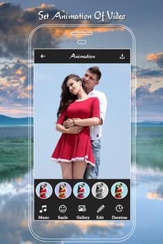 Couple Photo to Video Maker screenshot 1