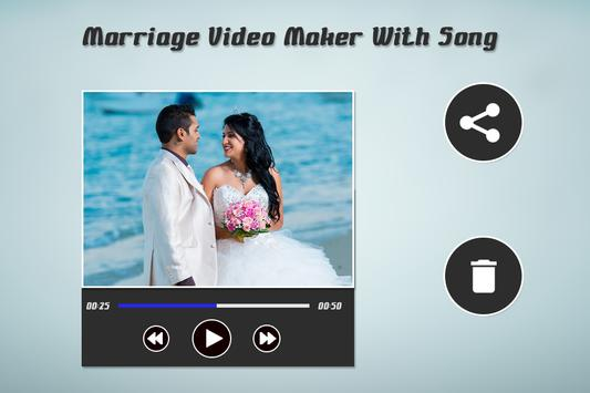 Marriage Video Maker screenshot 1