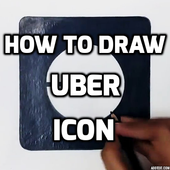 How to Draw a Uber icon