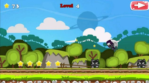 Run Ninja Fly Ninja! Free screenshot 14