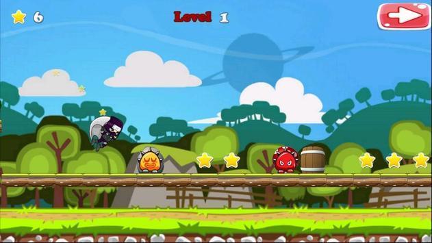 Run Ninja Fly Ninja! Free screenshot 1