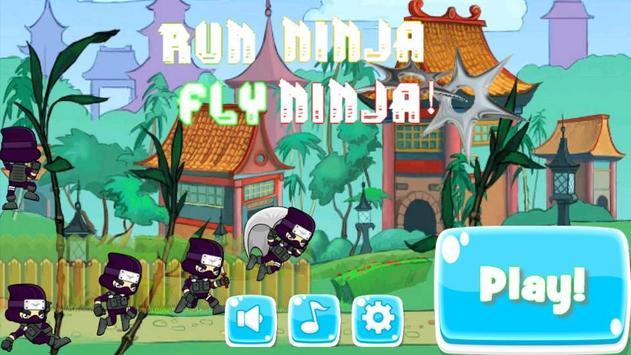 Run Ninja Fly Ninja! Free screenshot 17