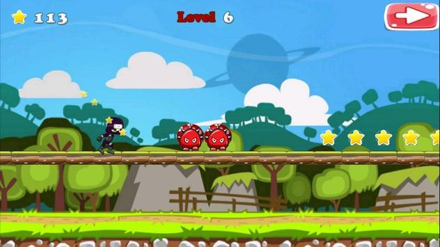 Run Ninja Fly Ninja! Free screenshot 2