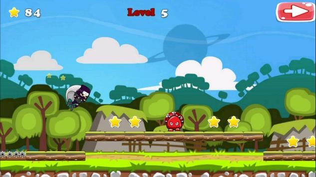 Run Ninja Fly Ninja! Free screenshot 3