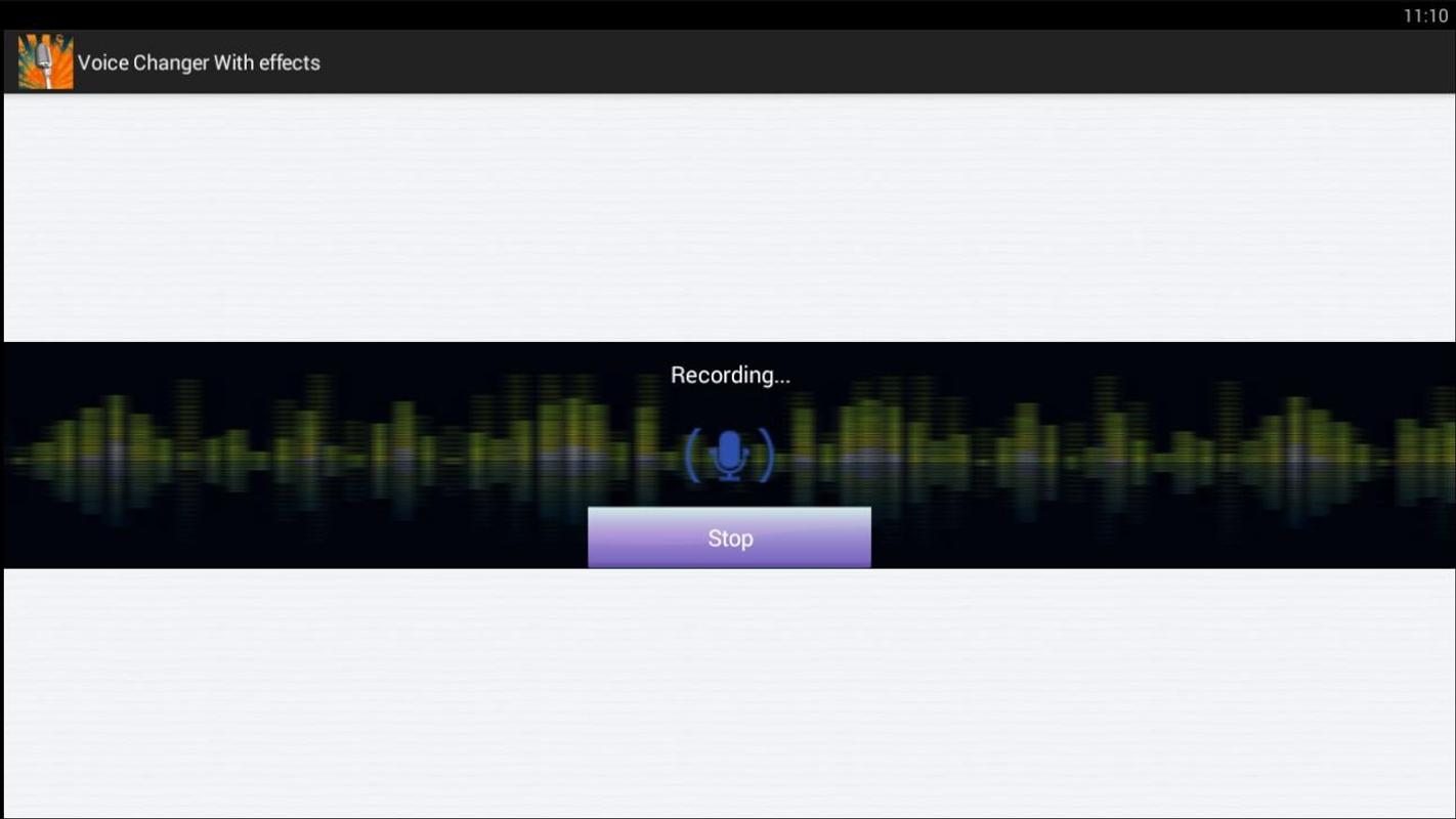 how to use voice modifier