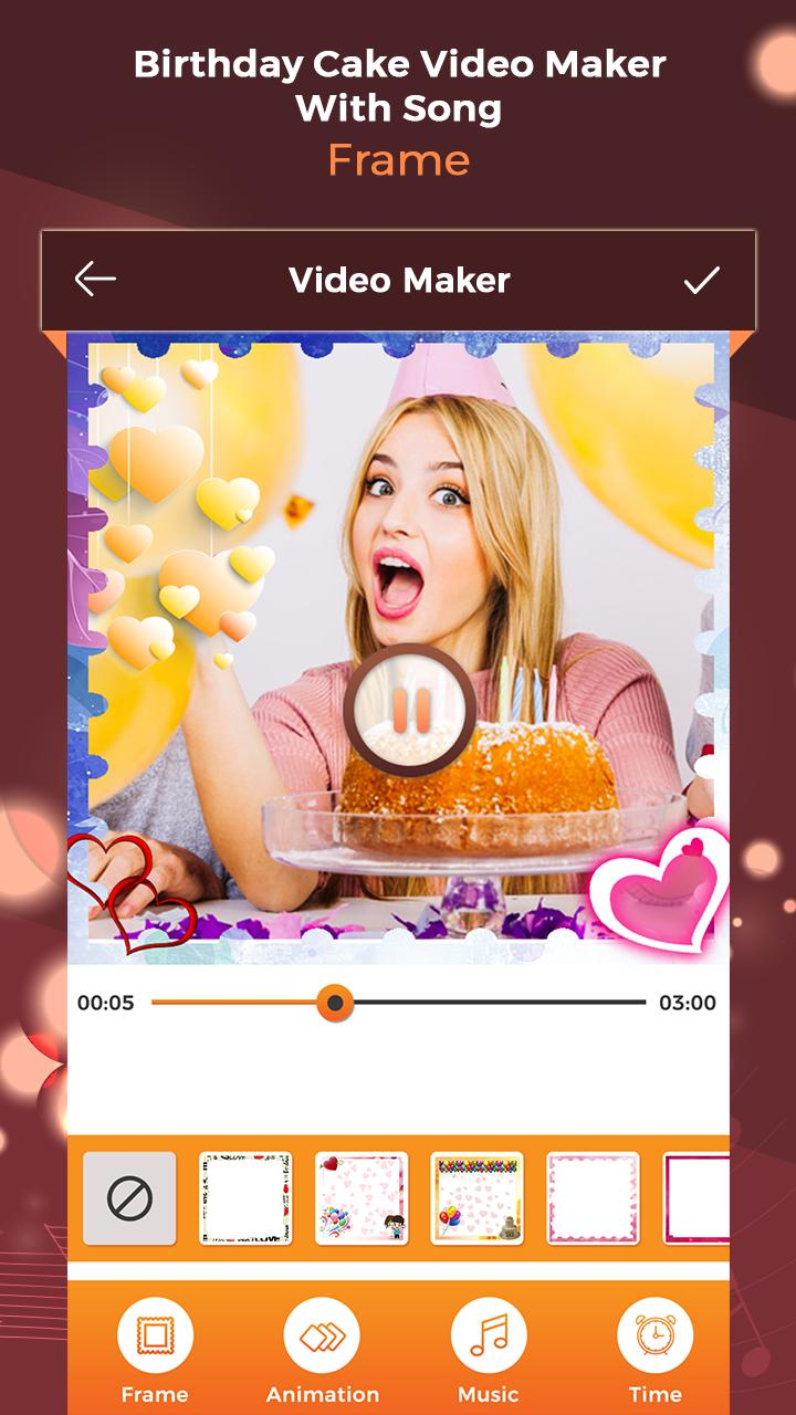 Prime Birthday Cake Video Maker With Song For Android Apk Download Funny Birthday Cards Online Eattedamsfinfo