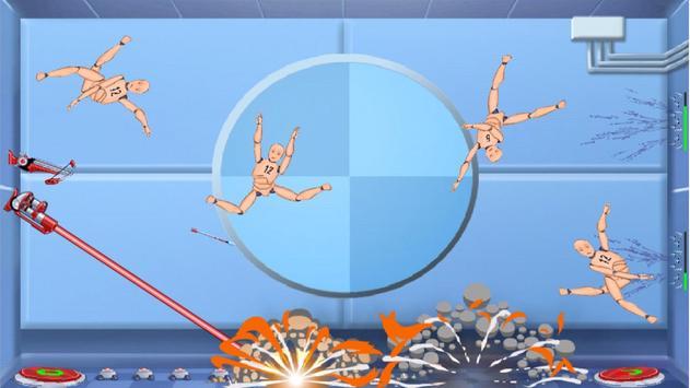 Ragdoll Crazy Bombs apk screenshot