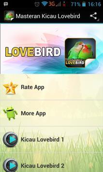 Masteran Kicau Lovebird poster