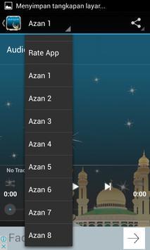 Azan Fajr Mp3 screenshot 4