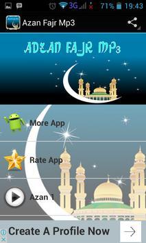 Azan Fajr Mp3 poster