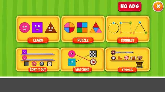 Shapes Puzzles for Kids poster