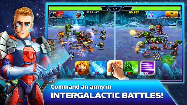 Galaxy Heroes: Space Wars apk screenshot