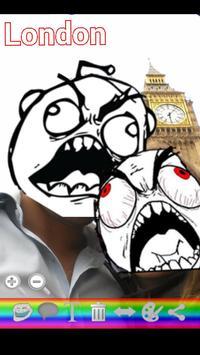 Rage Meme Photo Free screenshot 2