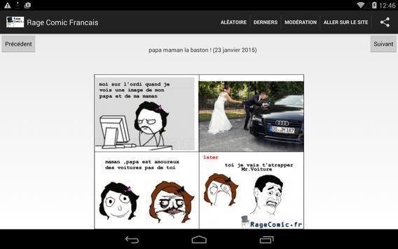Rage Comic Francais screenshot 2