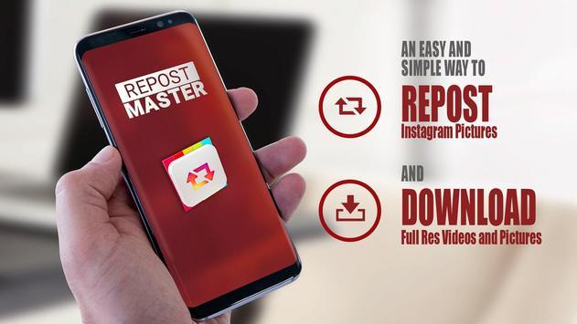 Repost Master for Instagram poster