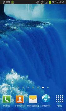 Raging Waterfalls Free LWP poster