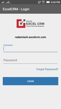 Excel CRM poster