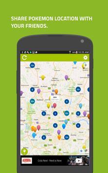 Go Radar-Maps for Pokémon Go poster