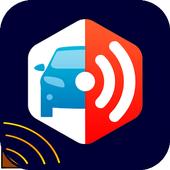 Radar Detector mobile  prank icon