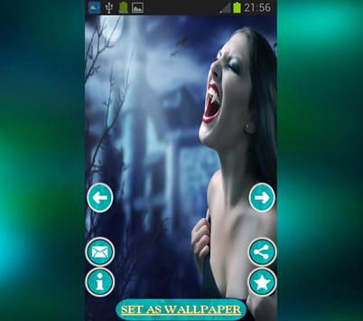 Vampires Live Wallpaper HD screenshot 3