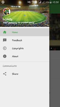 Crickify apk screenshot