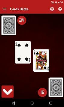 Cards Battle / War apk screenshot
