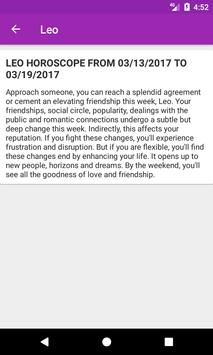 Horoscope screenshot 3