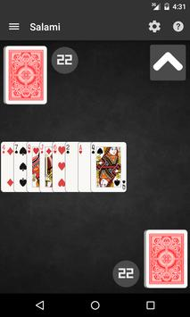 Salami Card Game apk screenshot