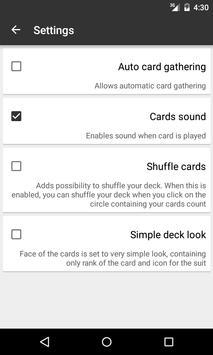 Salami Card Game apk screenshot