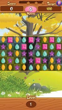 Jewels Match Garden poster