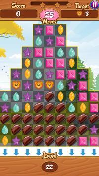 Jewels Match Garden screenshot 2