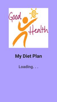 My Diet Plan - Daily Dieting poster