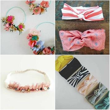 DIY Baby Headband Knot Ideas poster