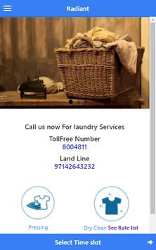 Radiant Laundry poster