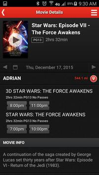 MJR Digital Cinemas screenshot 3